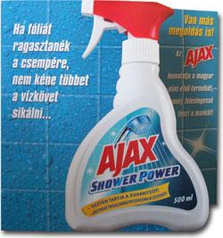 Ajax Shower Power
